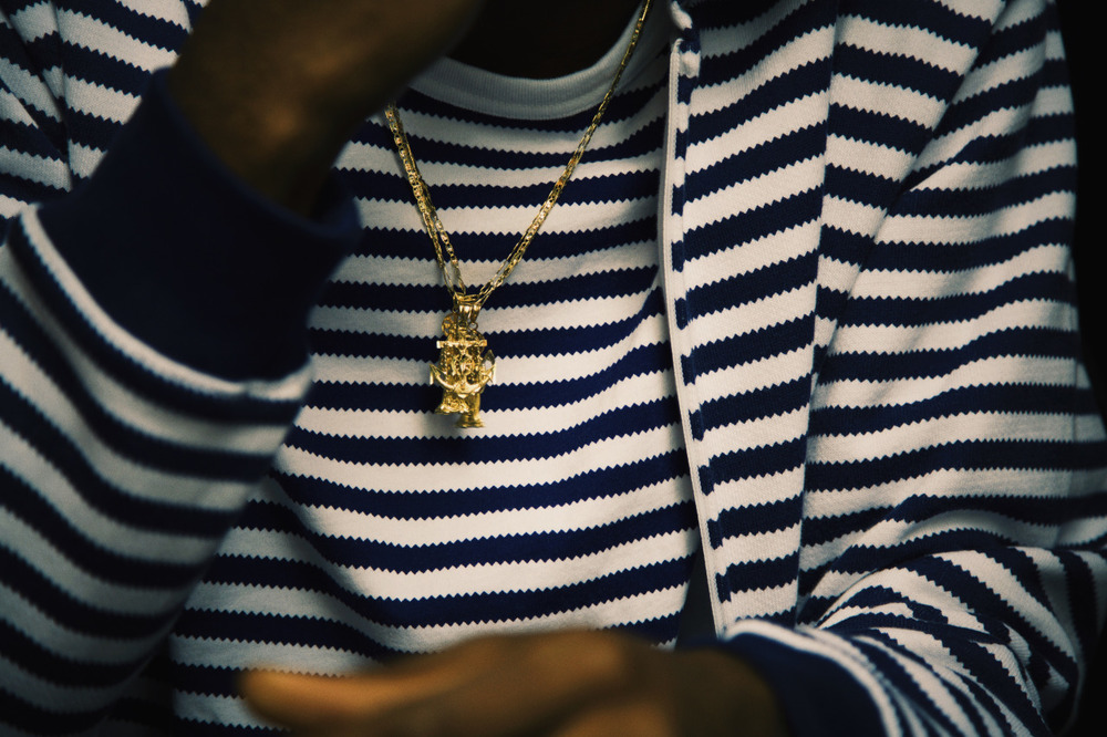 realhotnewhiphop :     Details.    Playboi Carti at the HotNewHipHop office // 2015-09-22   Photo by Justin Fleischer