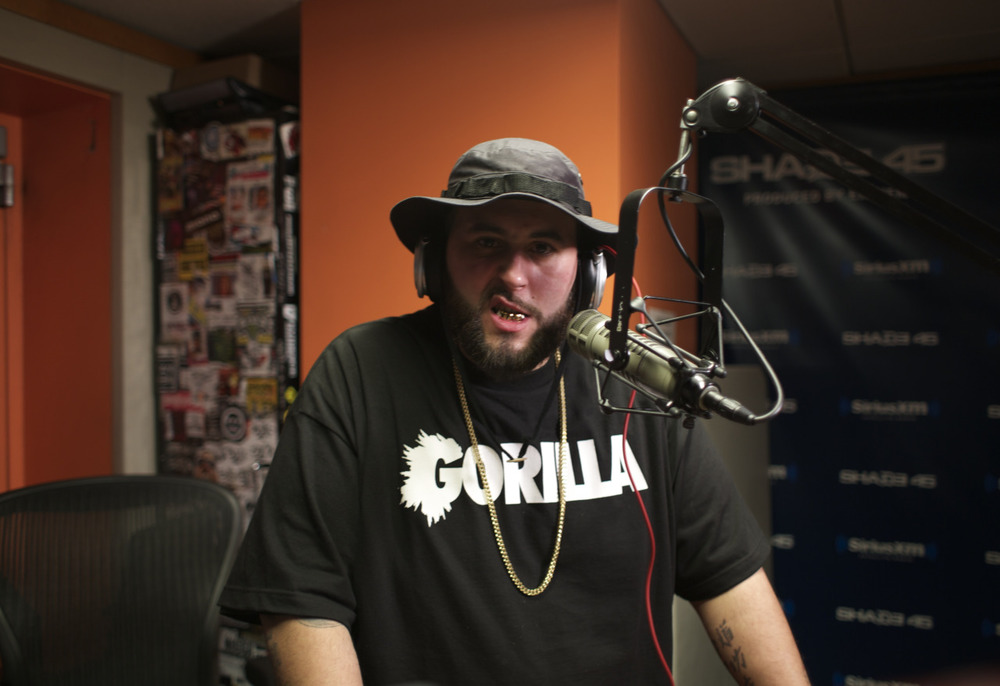 @NemsFYL on @ shade45  #ShowoffRadio w/ @StatikSelekt     Shot by @jFlei