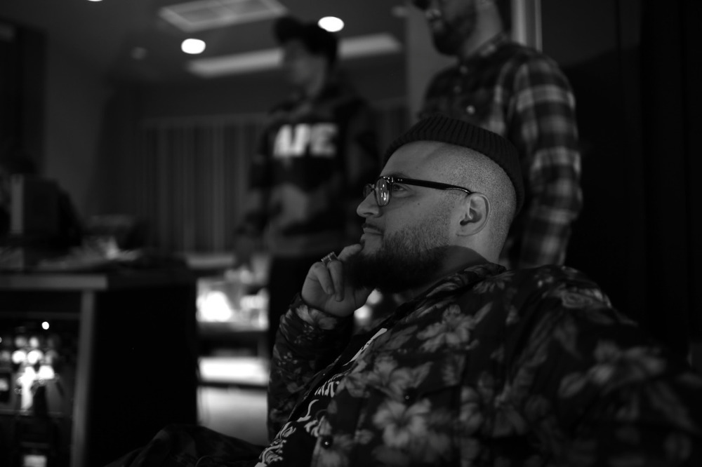 @FranktheButcher at the #LoudDreams Sessions.   Shot by @jFlei