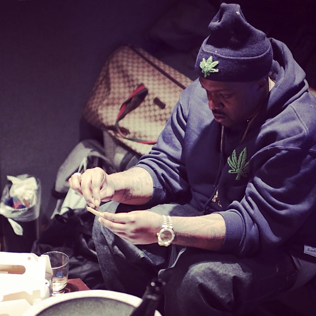 @kushedgod @smokedza (at Red Bull Studios New York)