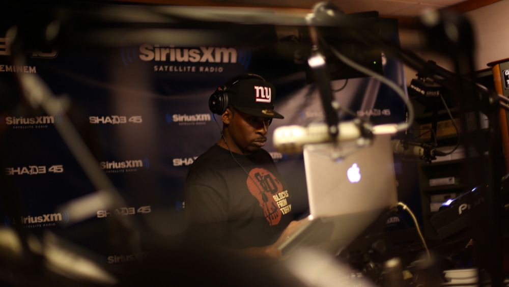 @TheRealPeteRock on @shade45 @statikselekt #showoffradio    Shot by  @jFlei