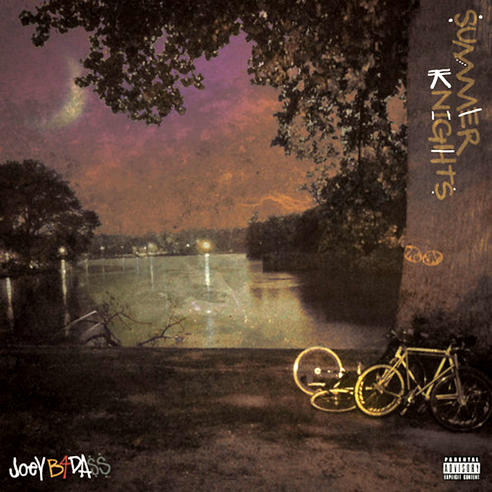 @TonyWhlgn created instantly classic cover art for @JoeyBADASS_ upcoming project, #summerknights, which will also be instantly classic and nextlevel…
