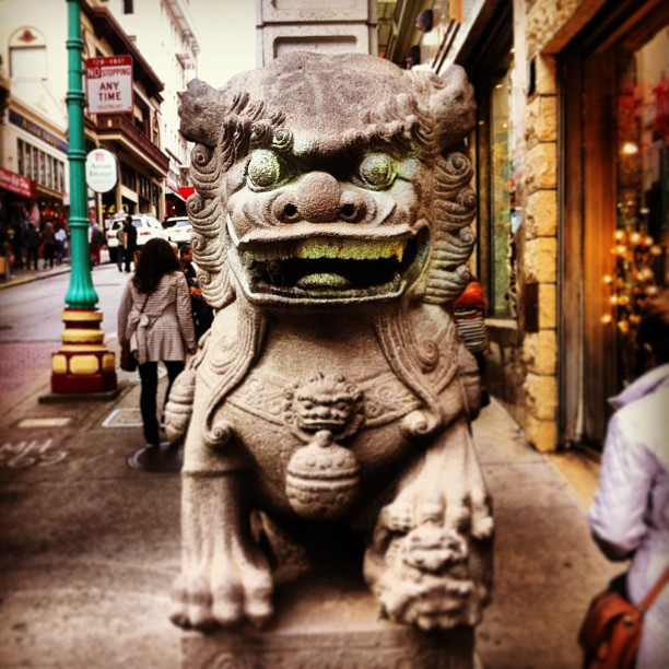 Welcome to San Francisco. (at Chinatown Gate)