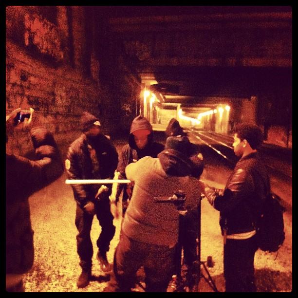 Joey DZA Krit making a classic one underground.
