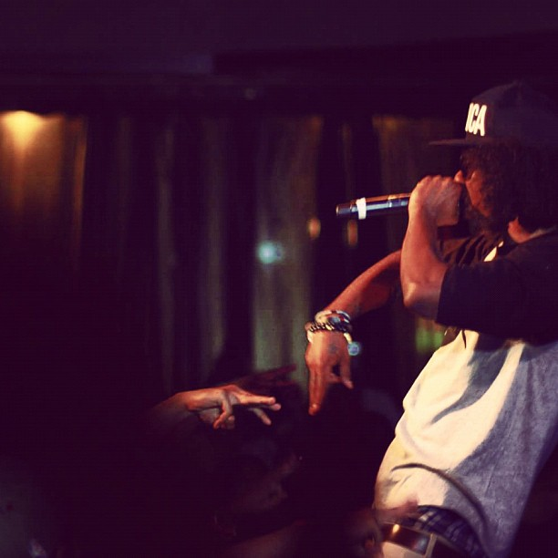 @abdashsoul at S.O.B.'s Shot by @jFlei