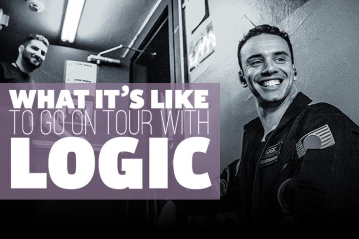 "Videographer Justin Fleischer gives us his first-hand account of Logic's ""The Incredible True Story"" tour."