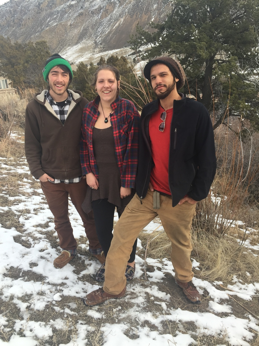 The Buffalo Field Campaign has been advocating for wild bison since 1995, when these volunteers -- Oliver, Amanda and Sam -- were toddlers.