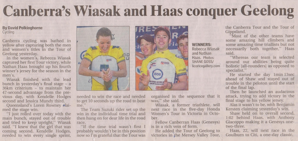 The Canberra Times  15 August 2011