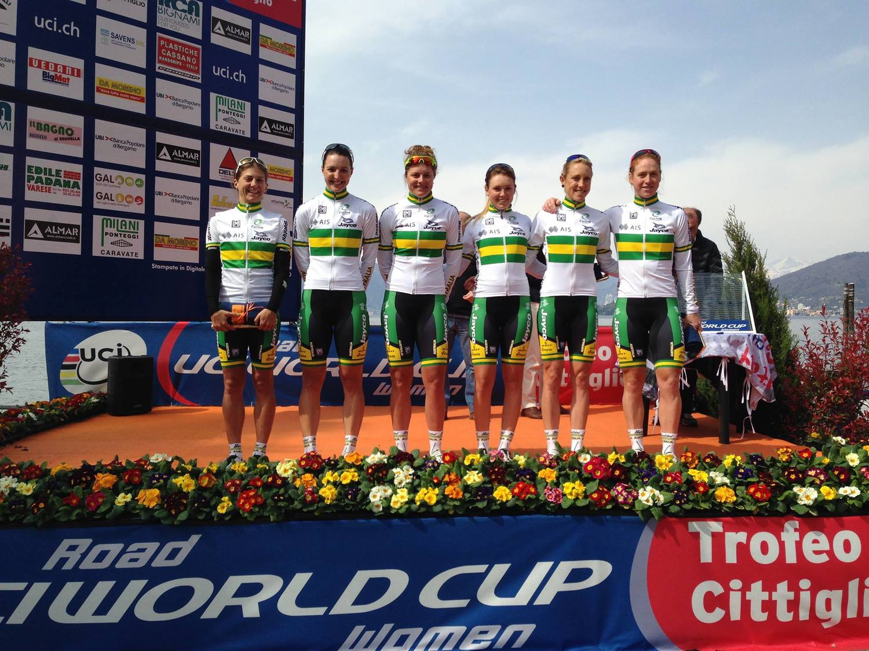 Trofeo Alfredo Binda World Cup Rebecca Wiasak