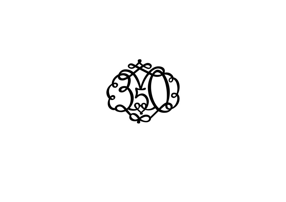 350 years birthday celebration of Árni Magnússon, manuscript collector. Based on this old emblem (see above) (2013)