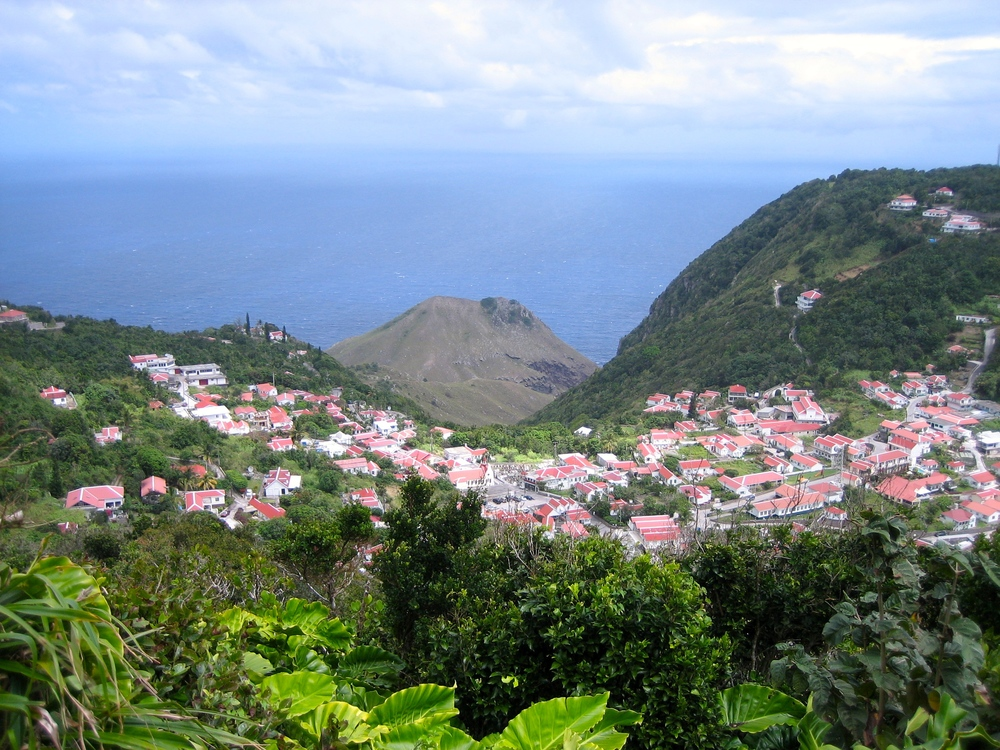 Saba Island, Dutch West Indies