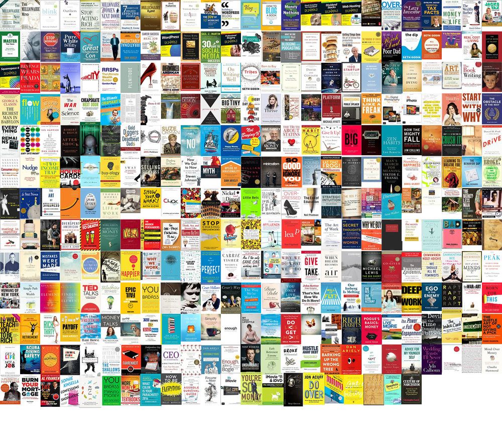 Click the image to view the front covers of all Books included in the total above.