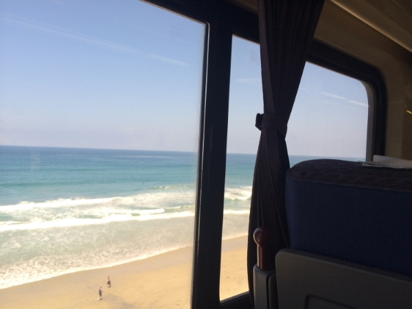 one last photo from my ah-maaaazing train ride down the Californian coast last weekend.