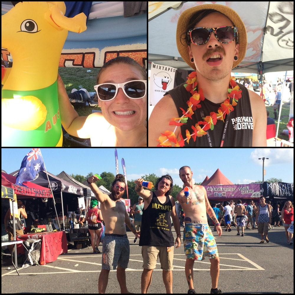 this is the photo from Warped 2014 that most accurately describes my love of The City Shakeup