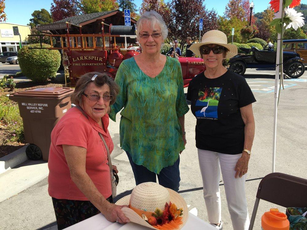 Joannie Vaughan, Kathy Tobin & Phyllis Galanis