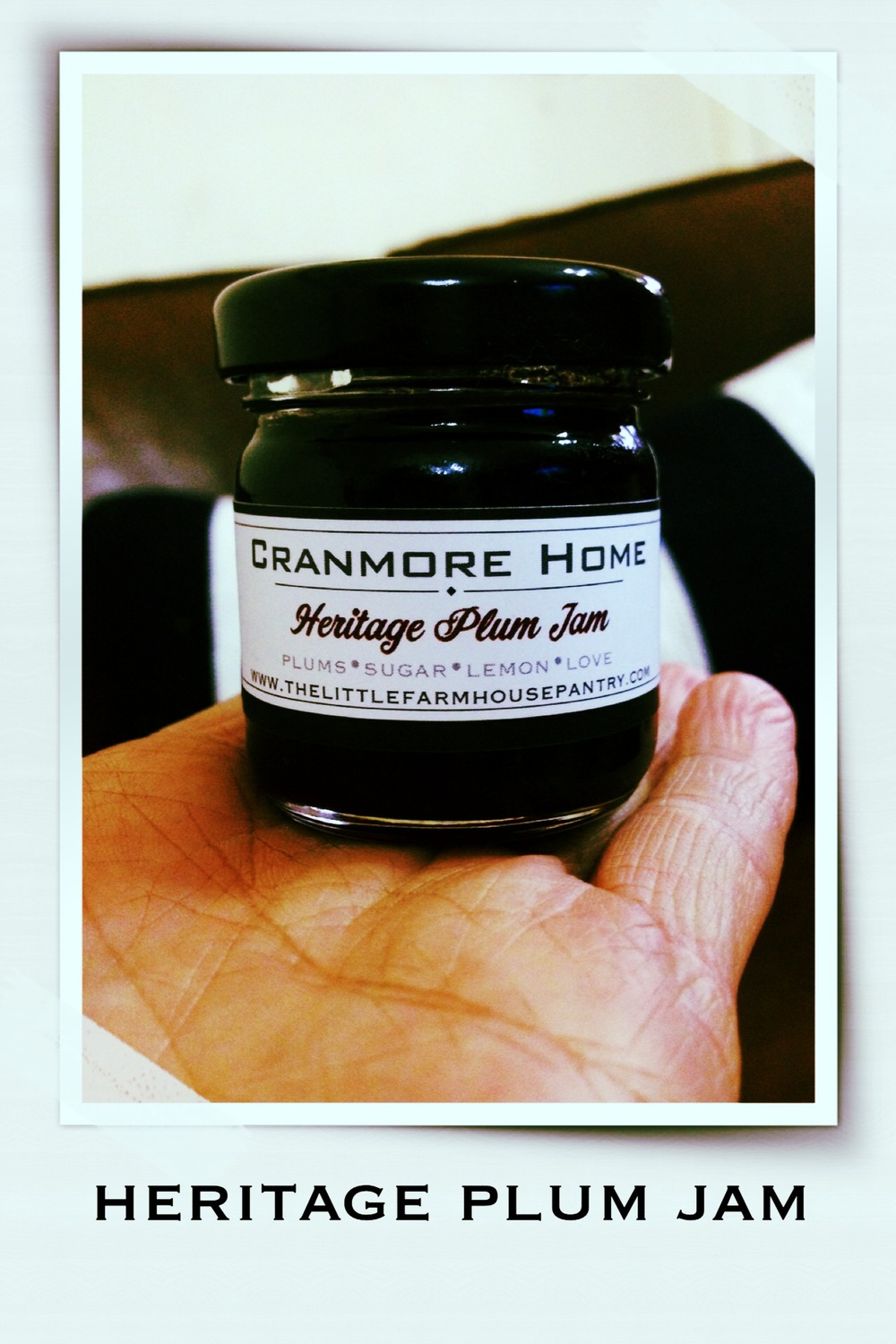 CRANMOREhome Heritage Plum in 40ml Round Jars