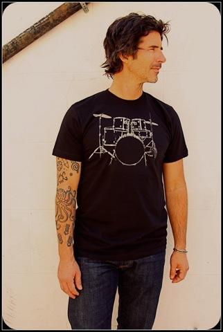 Turk+Taylor : drum-t-shirt