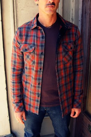 Mulberry Plaid Shirt