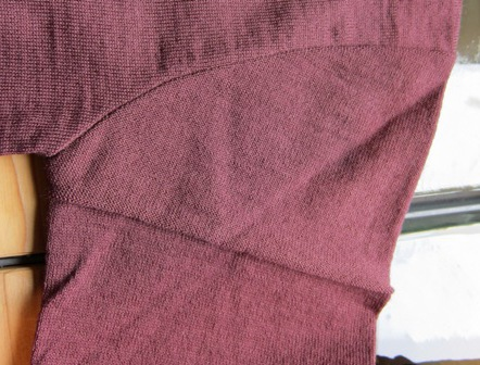 VersionCardigan.Since1960. SleeveDetail