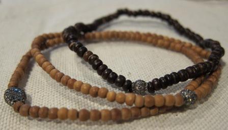Jupiter Wood Bracelets