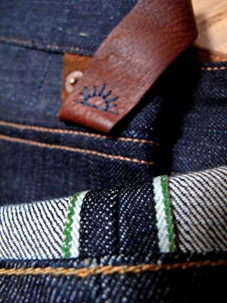 Rising Sun & Co. Organic Selvage - GreenLine