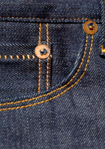 Rising Sun & Co. Organic Selvage Ride Em - WatchPkt