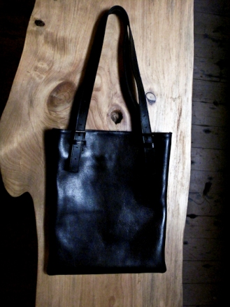 AB Fits Leather Book Tote