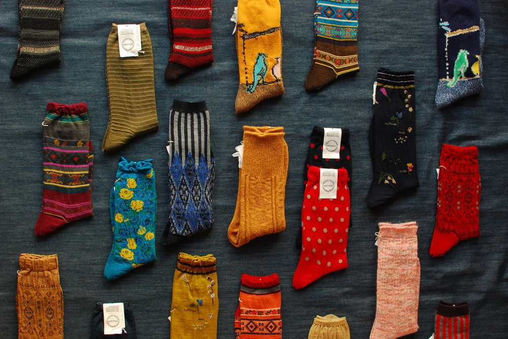 Women's Selection of socks for Fall 2015