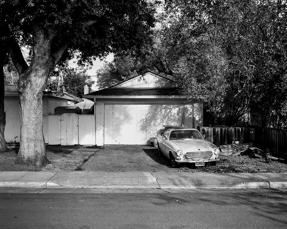 Palo Alto, California. March 2014 {Scanned 120mm B&W Film Negative}.