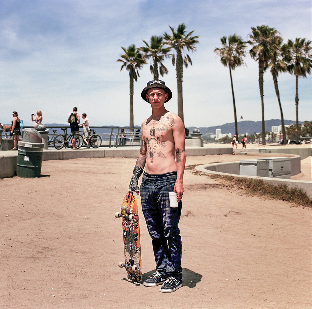 Venice Beach, California. May 2014.