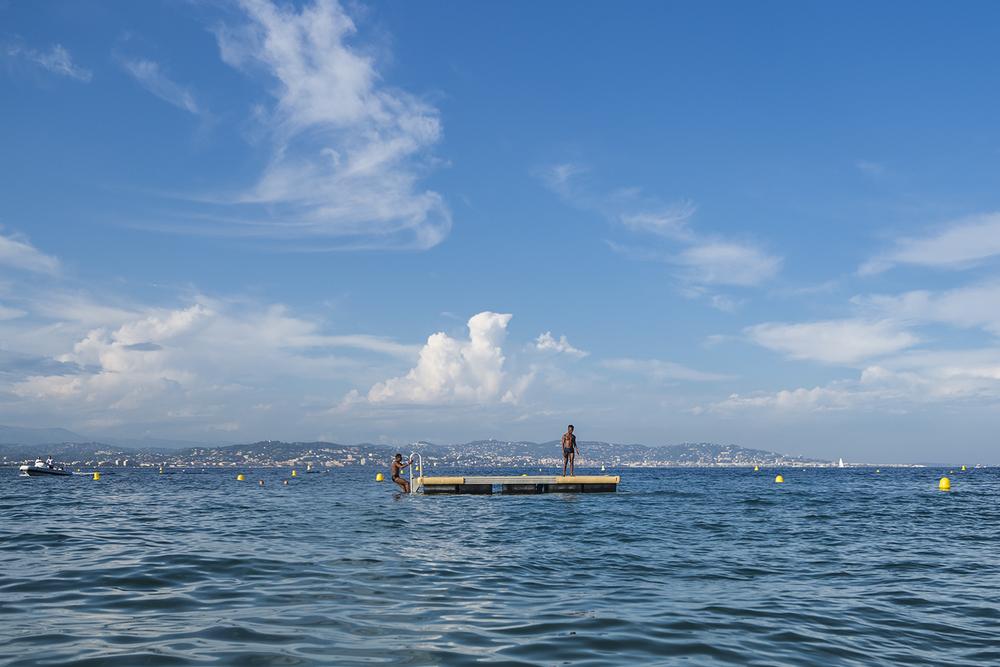 Théoule-sur-Mer,Côte d'Azur. France, August 2014.