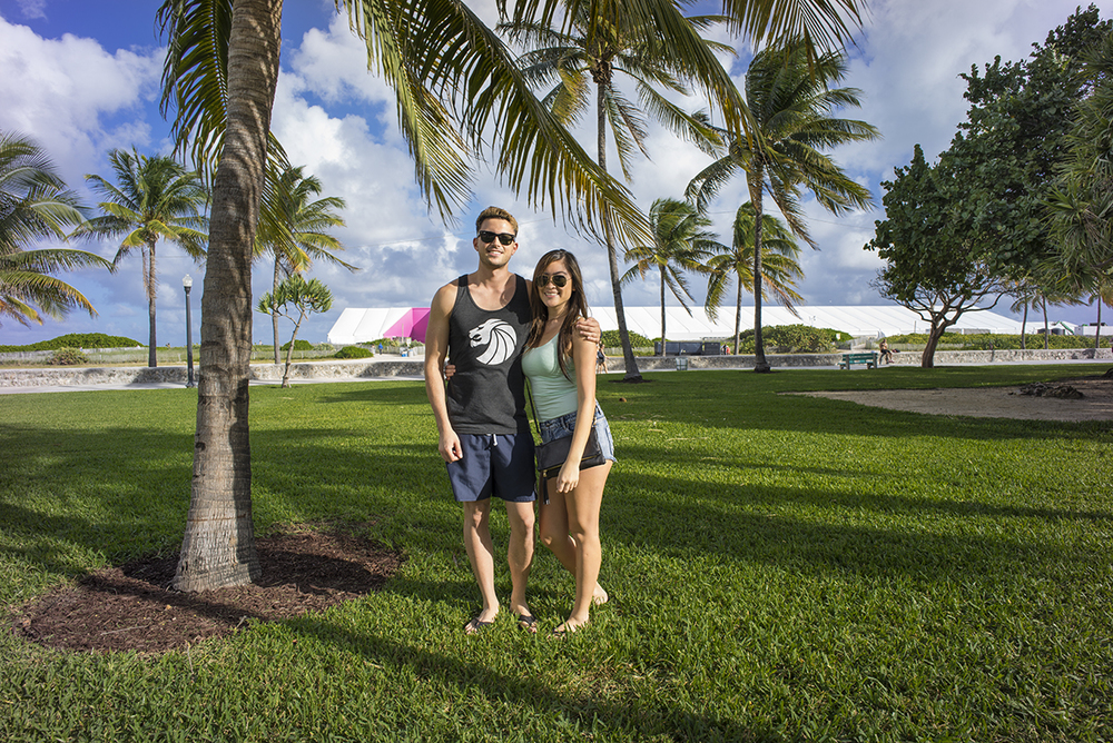Jordan and Carmel. Miami Beach, Florida. December 2014.