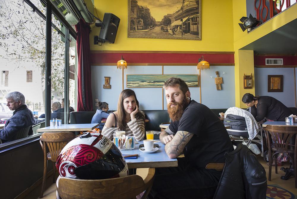Yuval & Shai. Tel-Aviv, Israel. March 2015.