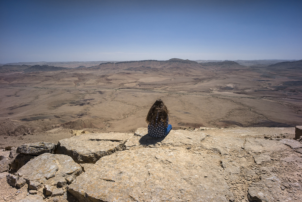 Ramon Crater, Israel. March 2015.