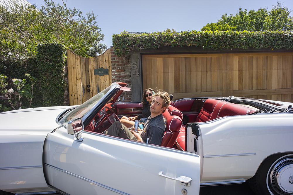 Matt & Jesse Jo. Malibu, California. May 2015.