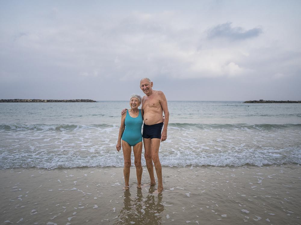 Ze'ev & Hannah. Tel-Aviv, Israel. August 2015.