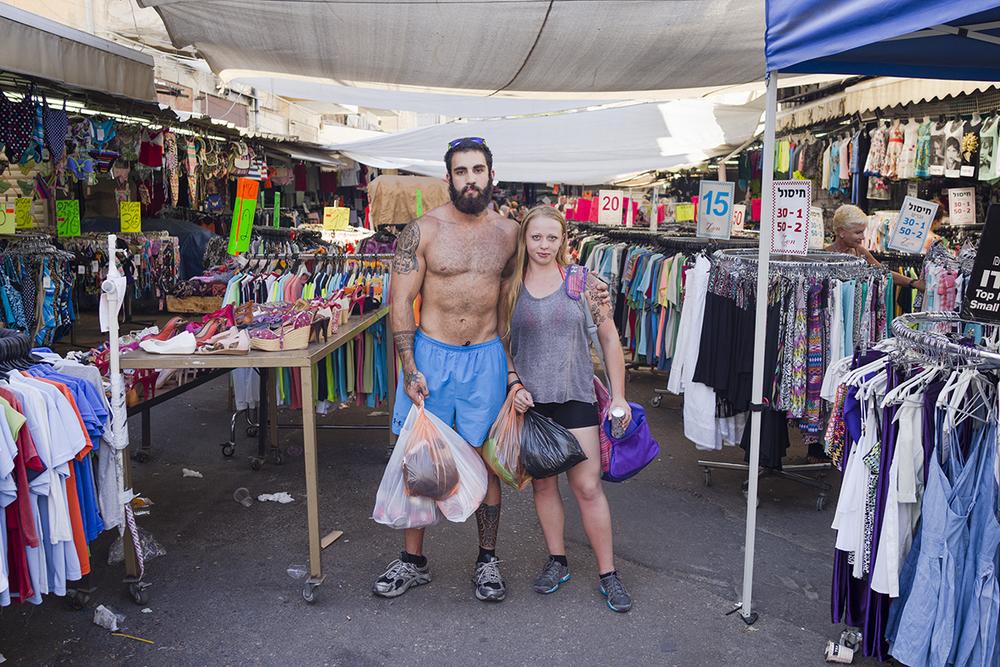 Tel-Aviv, Israel. August 2015.