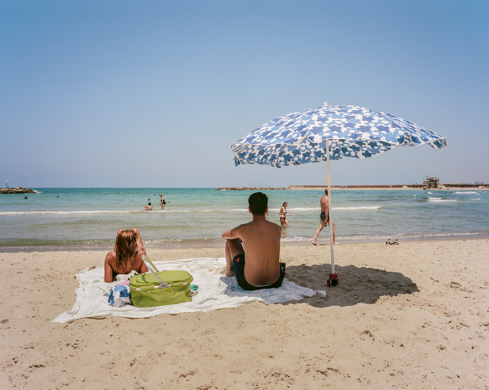 Tel-Aviv, Israel. July 2015 {Scanned 120mm color film negative}.
