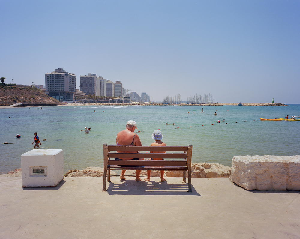 Tel-Aviv, Israel. July 2015 {Scanned 120mm color film negative}.