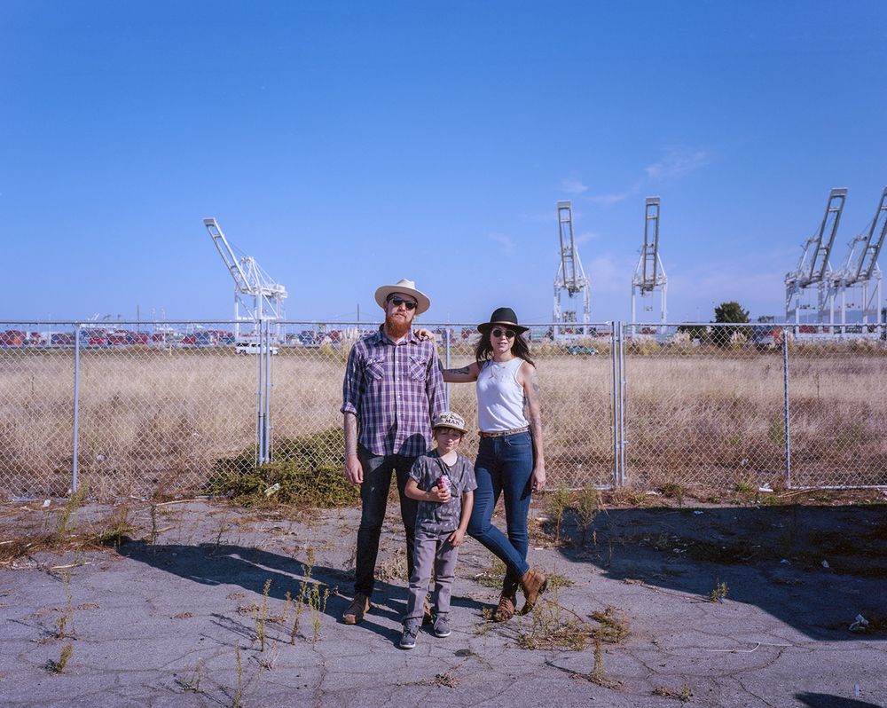 Mike & Candace with Townes | Alameda, California. October 2015.