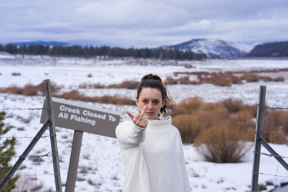 Shira | Truckee, California. January 2016.