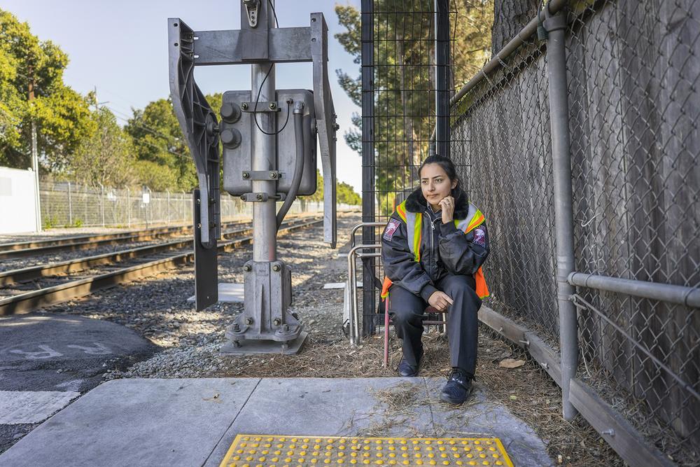 Daisy, Railroad Suicide Watch | Palo Alto, California. March 2016.