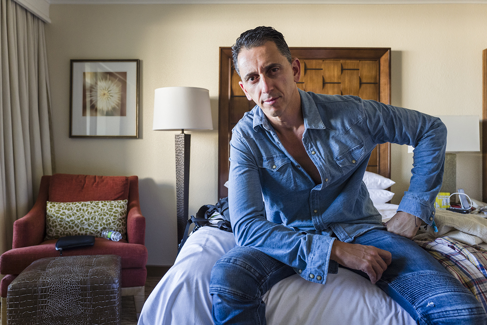 Self Portrait | Bed Rest. Coachella, California. April 2016.