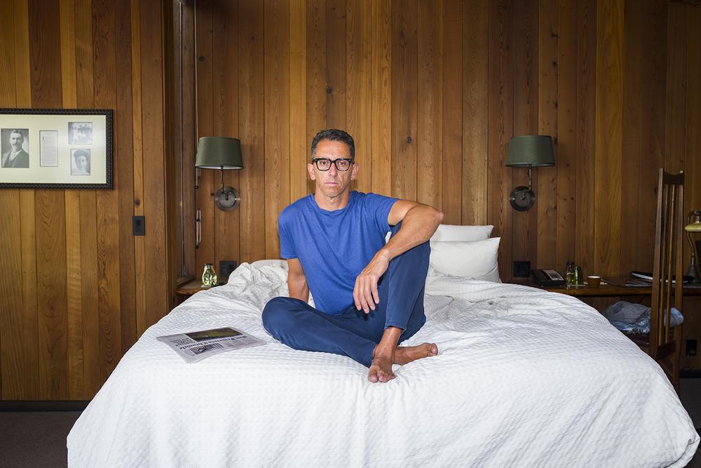 Self Portrait | Bed Rest. Big Sur, California. May 2016.