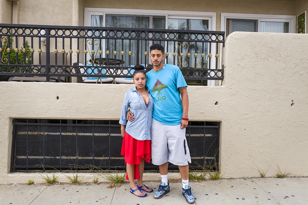 Jason and Yassi | Santa Monica, California. June 2016.