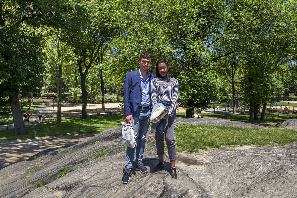 Nick and Gina at Central Park. New York, June 2016.