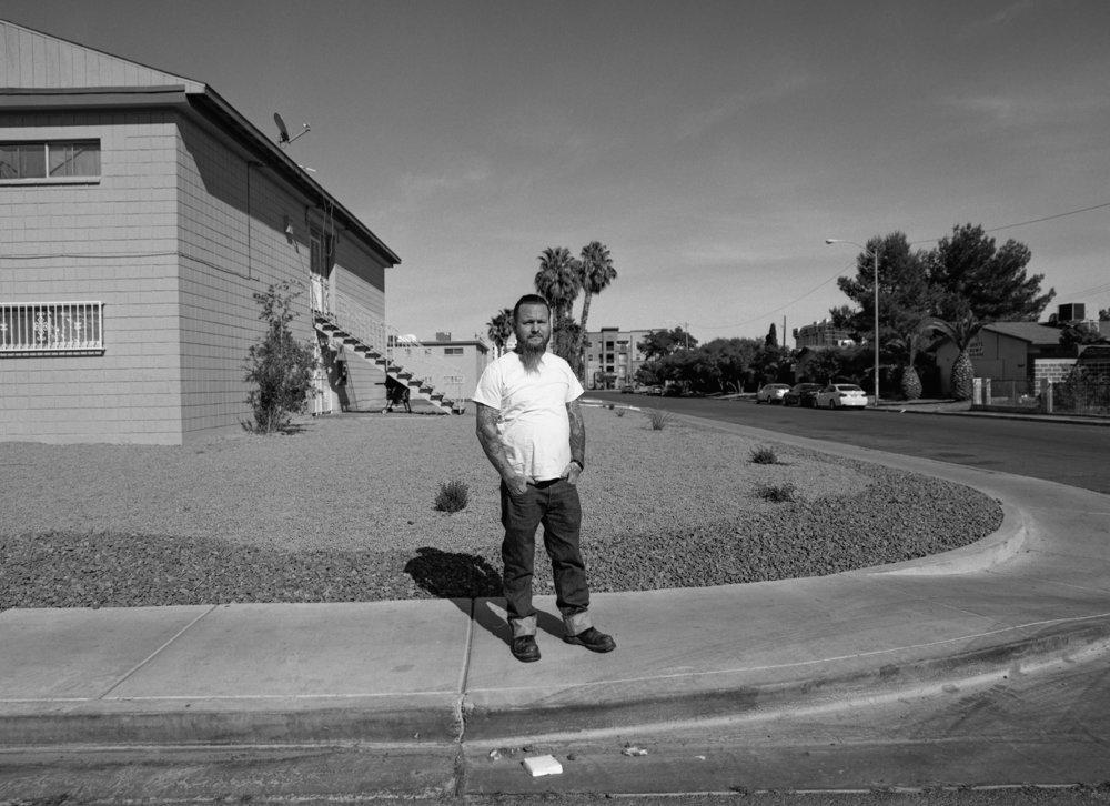 Las Vegas, Nevada  April 2016 {Scanned 120mm B&W Film Negative}