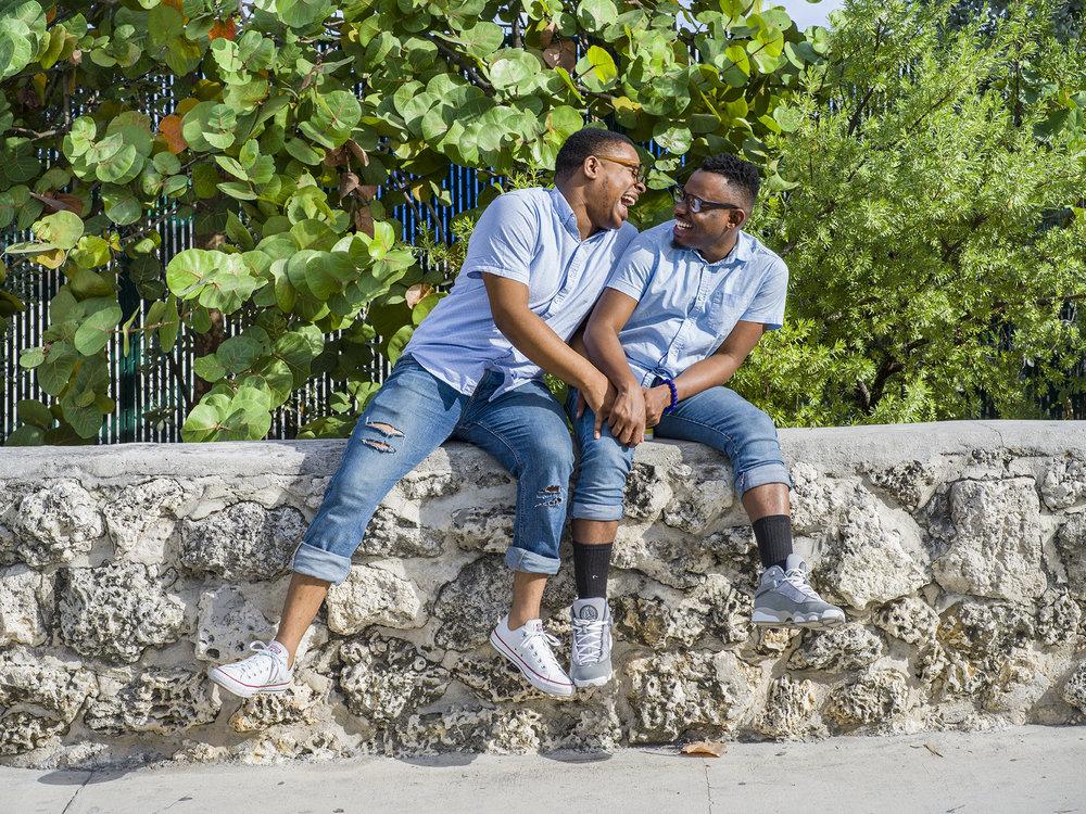Marvin and Benny | Miami Beach, Florida. December 2018.