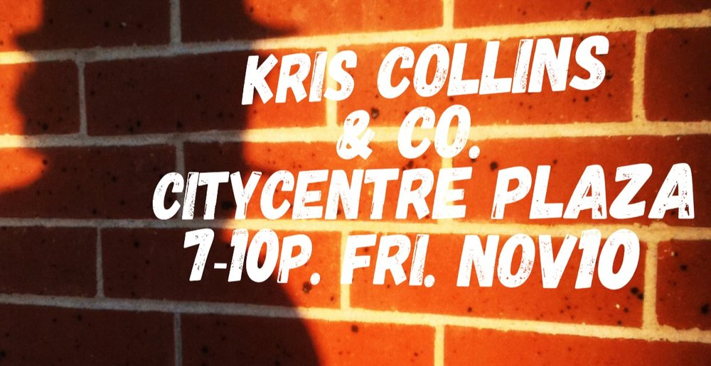 We're honored to be playing again this Friday night at CityCentre Plaza! Come enjoy the cool weather while we have it. We'll see you there!