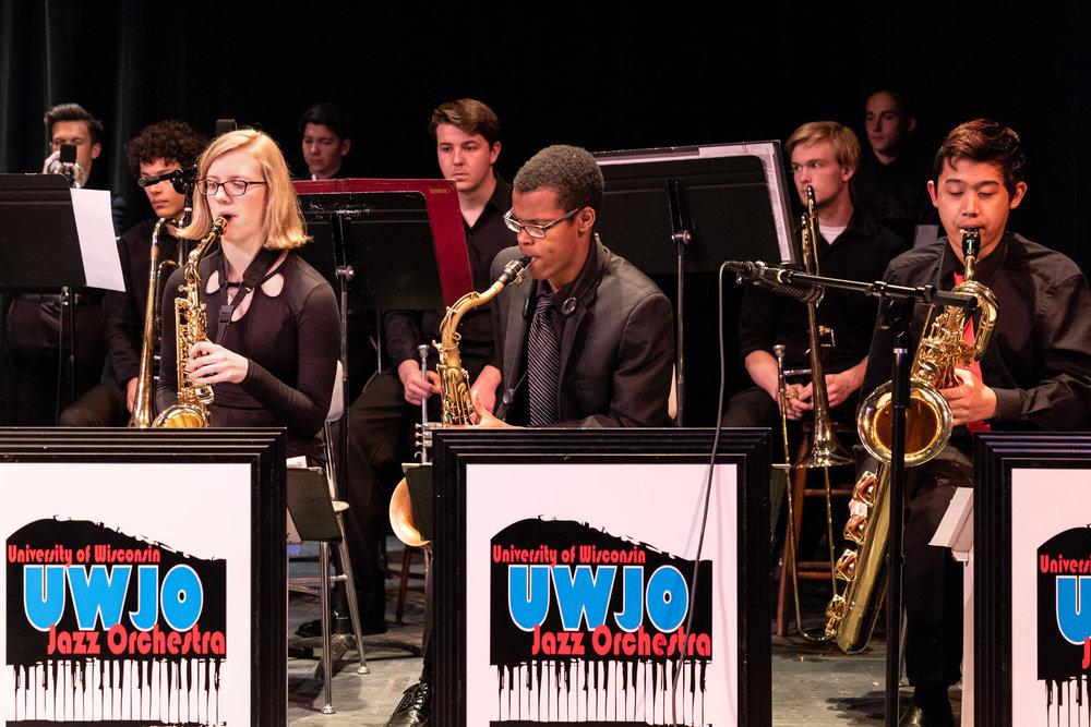 2018 UW Honors Jazz Band